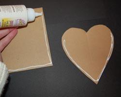 adding glue