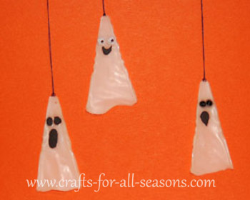 spooky ghost necklaces