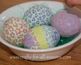 polymer clay Easter eggs
