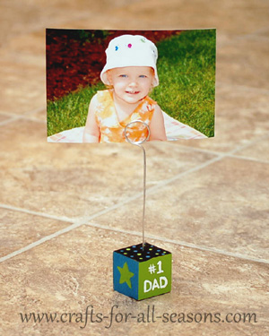photo holder craft