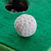 photo of golf ball close-up