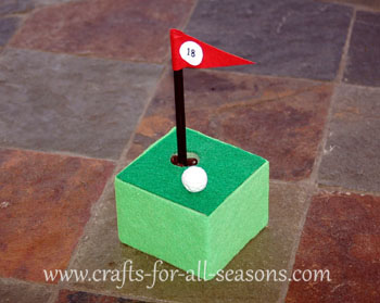 Photo of golf pen craft