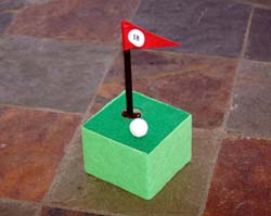 photo of golf pen holder