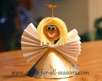 popsicle stick angel