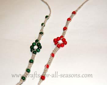 easy hemp necklace