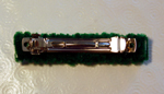 barrette upside down