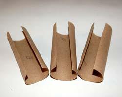 toilet paper tubes cut