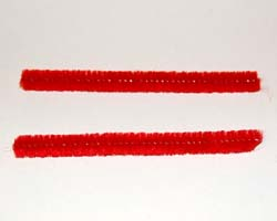 two pipecleaners