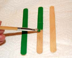 painting craft sticks