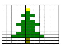 Christmas tree pattern2