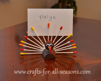 Thanksgiving place holder craft