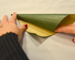 making paper cone