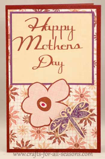 happy mothers day cards make. cricut mothers day card
