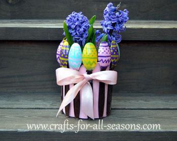 Easter planter craft