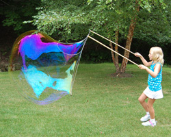 creating bubble