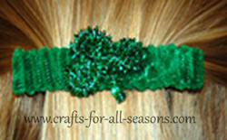 Irish barrette