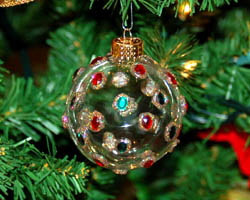 jeweled ornament