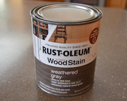 Rustoleum wood stain