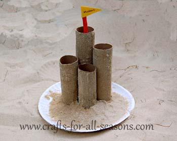sandcastle craft