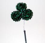 shamrock on floral pick