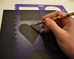 tracing heart