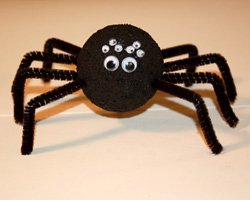 photo of craft spider