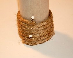 photo of wrapped rope