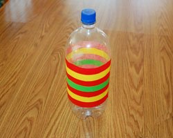 bottle with tape