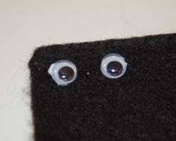 eyes on felt