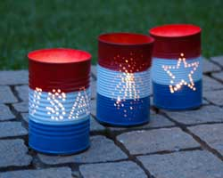 soup can luminaries