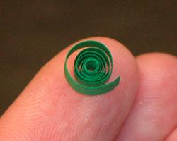 quilled spiral