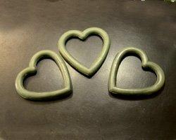 foam hearts