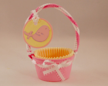 Easter basket craft