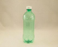 green pop bottle