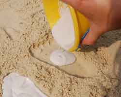 adding Plaster of Paris to bucket