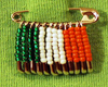 irish beaded safety pin