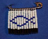 Jesus fish beaded safety pin