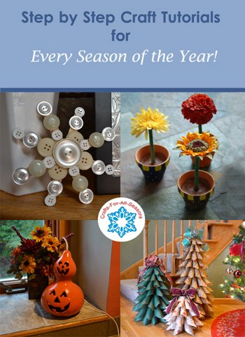 Crafts for all seasons for Fall craft ideas for seniors