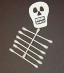 q tip skeleton template - q tip skeleton