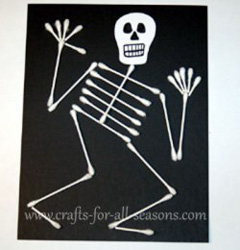 q-tip skeleton