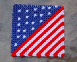 Patriotic needlecraft