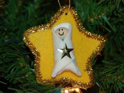 Baby Jesus Ornament