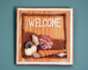beachy welcome sign