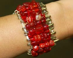 beaded bracelet craft