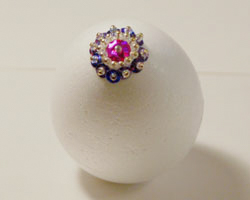 beaded egg craft