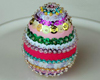 beaded easter egg craft