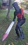 Monty Python Black Knight costume