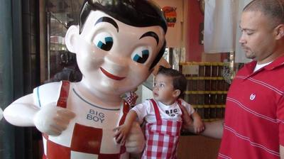 Bob's Big Boy costume