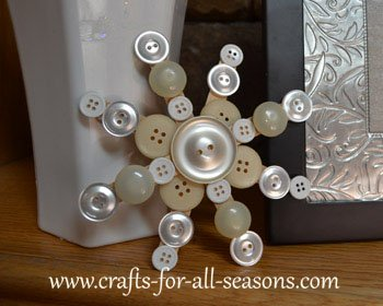 button snowflake