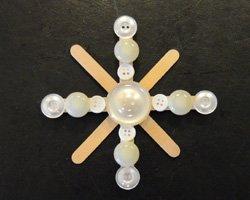 button snowflake